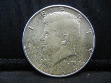 Lot 44Y: 1964 Kennedy Half Dollar - 90% Silver