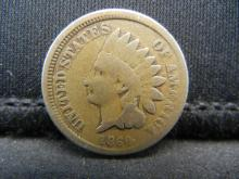 Lot 18Y: 1860 Indian Head Cent