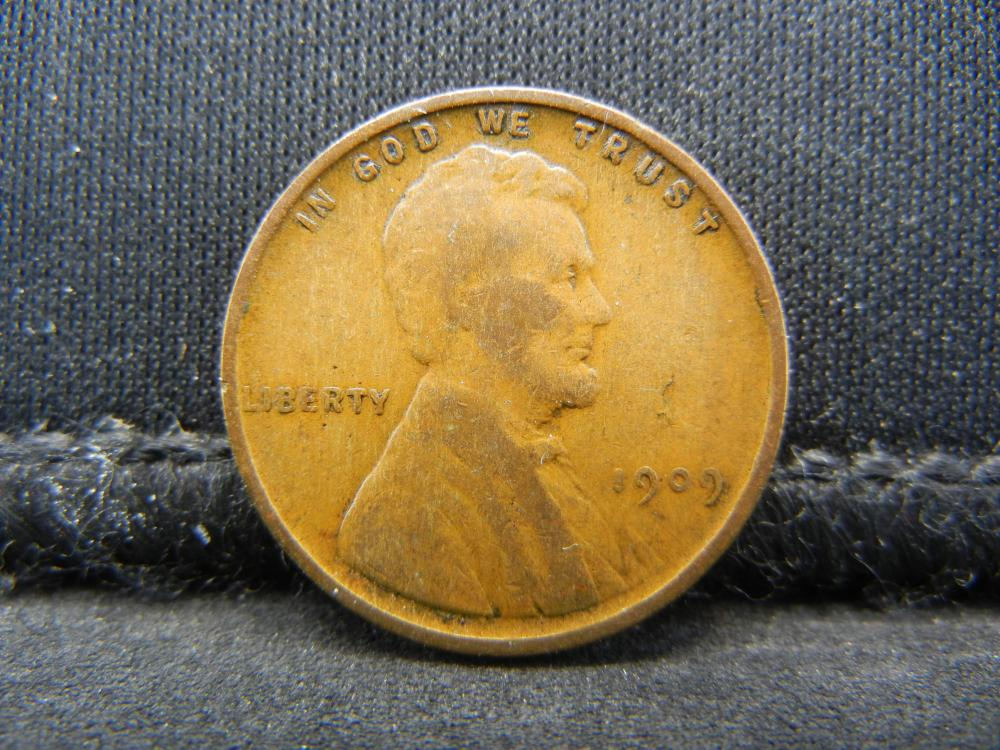 1909 V.D.B. Wheat Cent