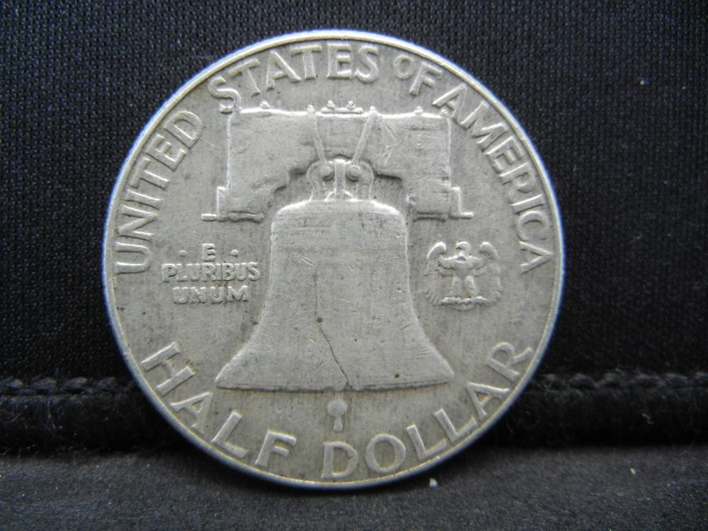 Lot 24Y: 1960 Franklin Half Dollar