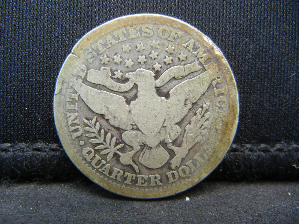 Lot 22Y: 1902 Barber Quarter