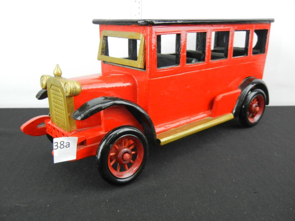 Homemade Wooden Car