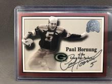 Paul Hornung Autographed Card - Global Authentics Authentication