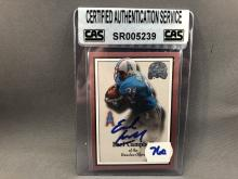 Earl Campbell Autographed Card - CAS Authentication