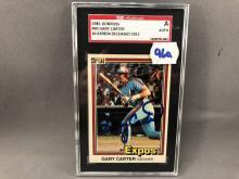 1981 Donruss Gary Carter Autographed Card - SGC Authenticated