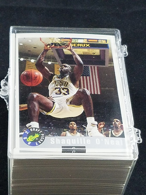 1992 93 classic draft pics basketball set shaq rookie for Classic house 1992