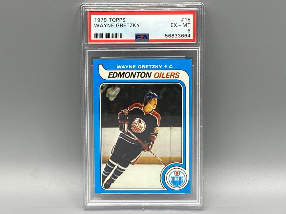 1979 Topps Wayne Gretzky #18 PSA 6 Rookie HOF