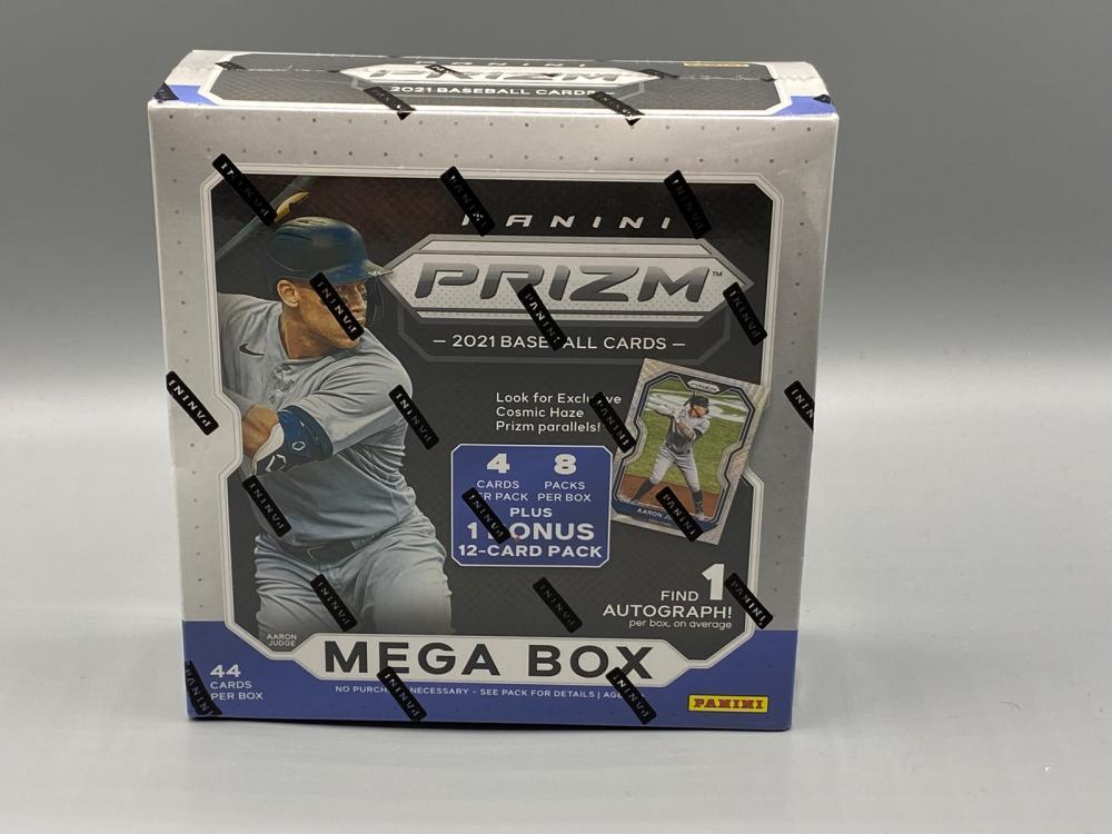 2021 Panini Prizm Baseball Mega Box Sealed