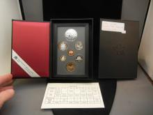1996 Canada Double Dollar.  Set.  McIntosh Apple silver Dollar.  Proof in government package.