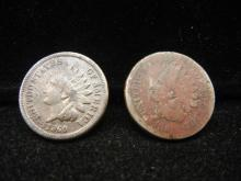 1860 & 1861 Indian Head Cents