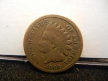 1862 CN Indian Head Cent