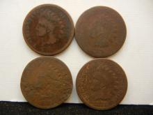 1874 Indian Head Cents
