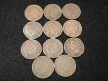 (8) 1902 & (3) 1903 Indian Head Cents