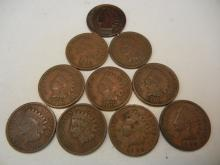(10) 1906 Indian Head Cents