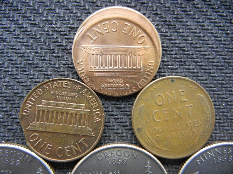 ERROR COINS LOT INCLUDES 1955-D/ D REPUNCHED MINT MARK PENNY