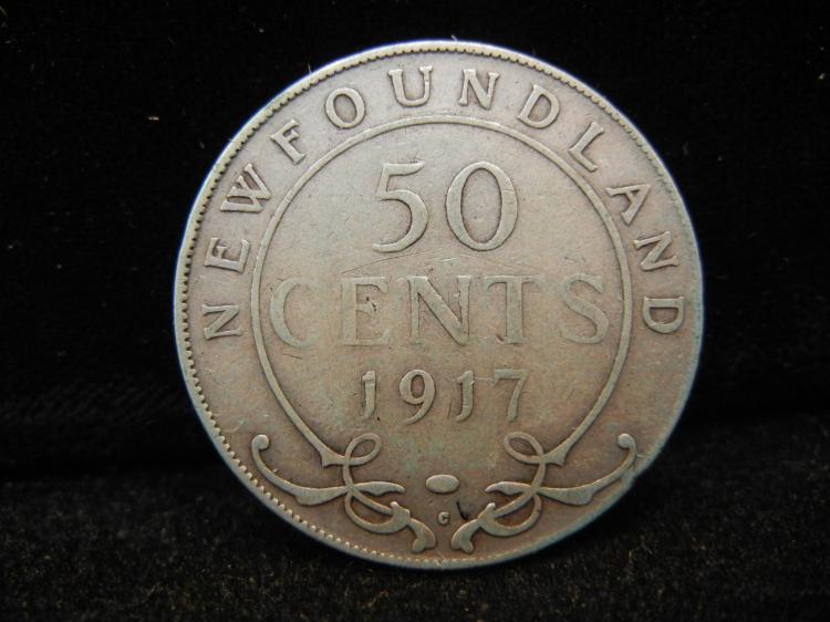 1917 Newfoundland 50 C...