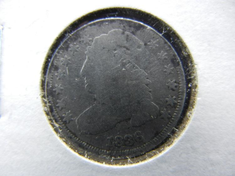 1836 BUST DIME