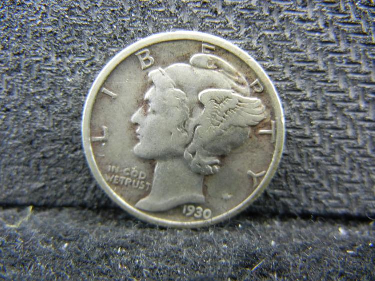 1930-S Mercury Dime
