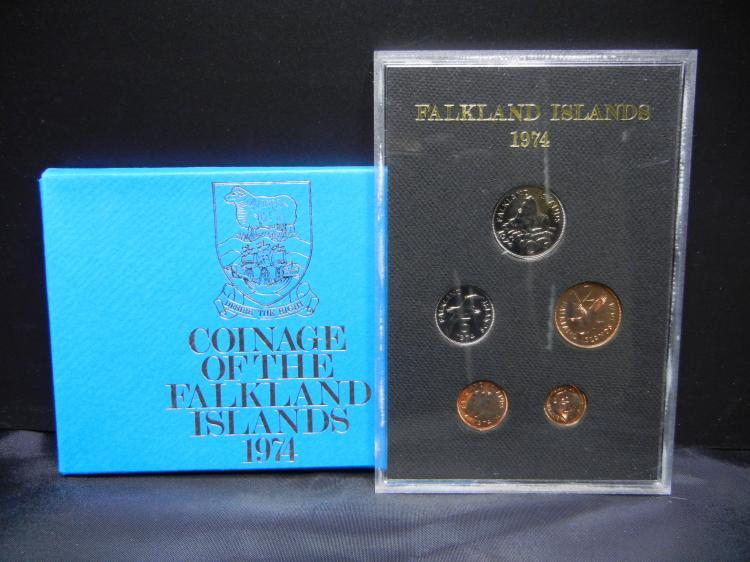 1974 Falkland Islands Proof Set