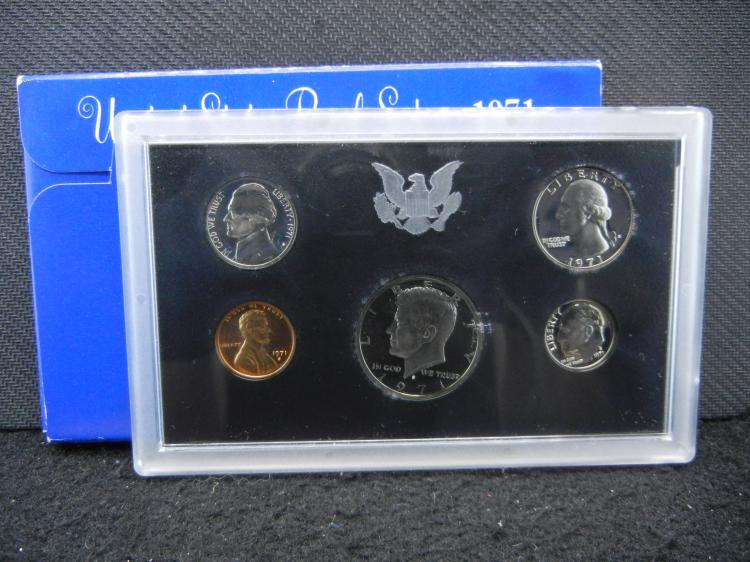1971-S U.S. Mint Proof Coin Set
