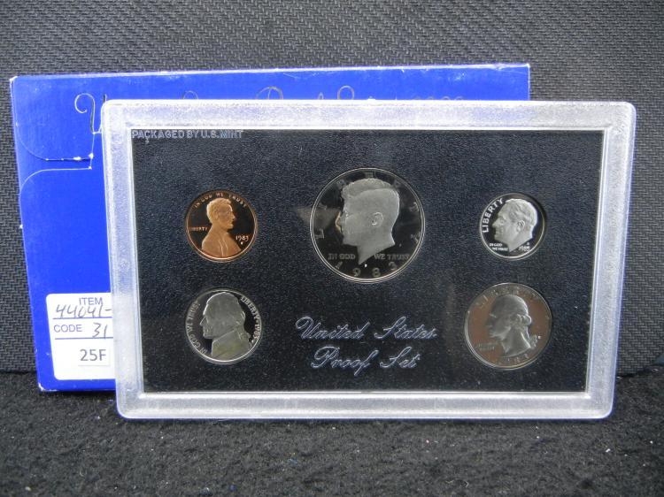 1983-S U.S. Mint Proof Coin Set