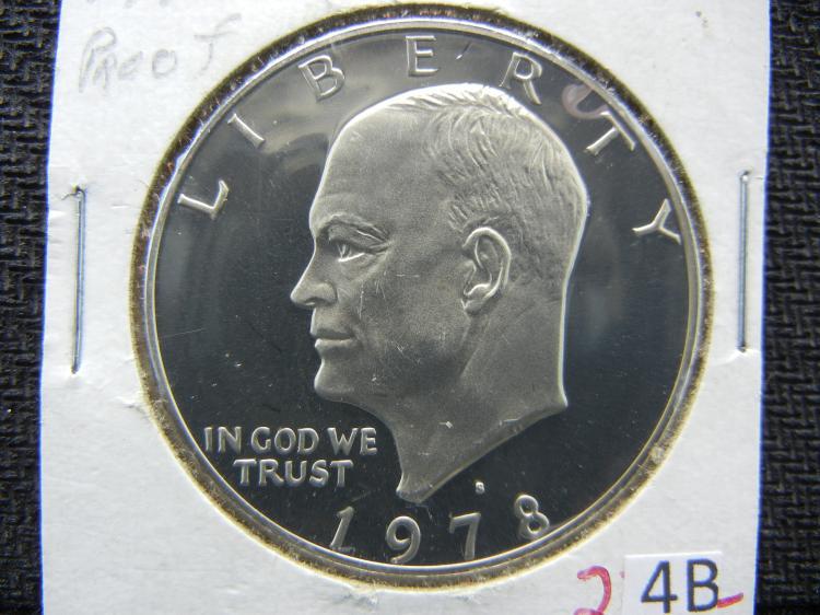 1978-S Proof Eisenhower Dollar