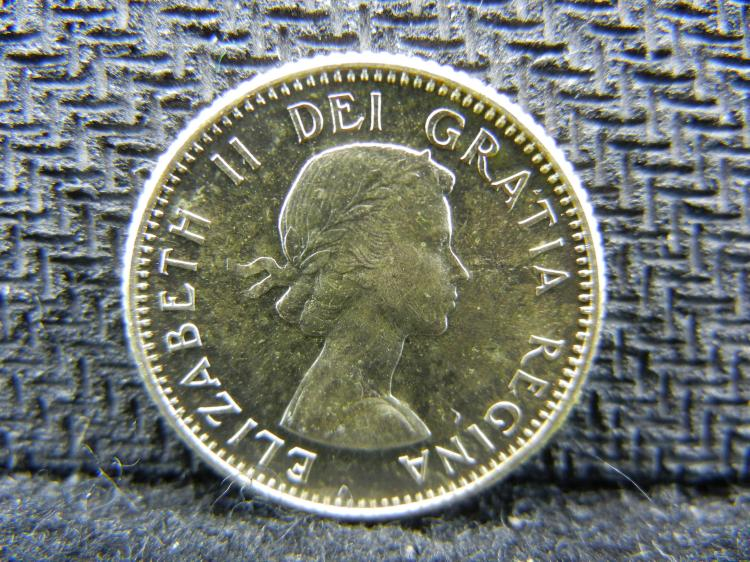 1959 Canadian Dime - 80% Silver