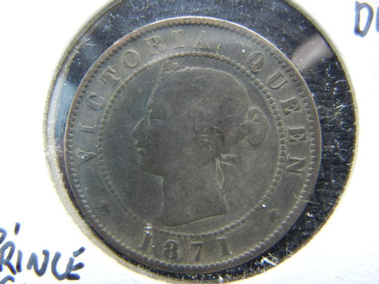 1871 Prince Edward Island Large Cent