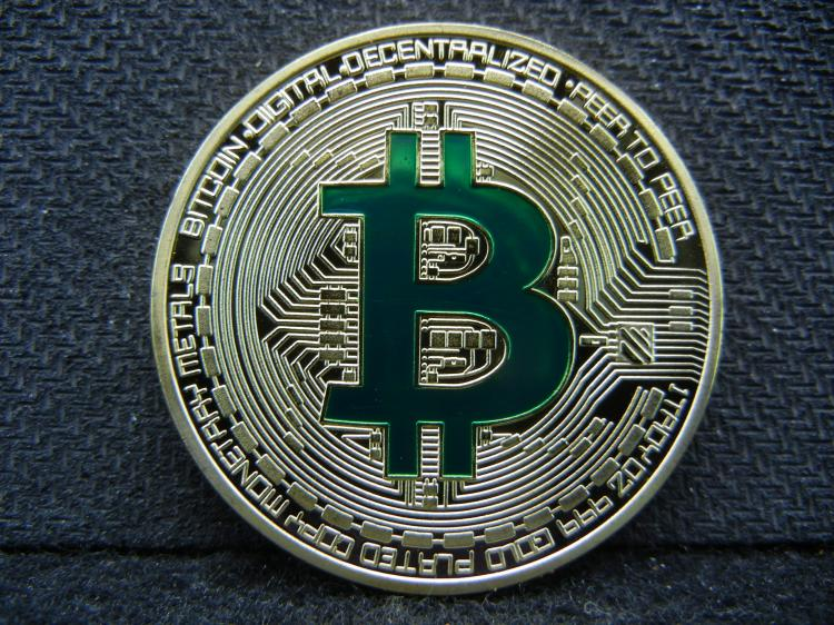 Bitcoin, Gold Enhanced, Beautiful Mirror/Proof, Encapsulated For Future Preservation, Great Gift! (Not Legal Tender)