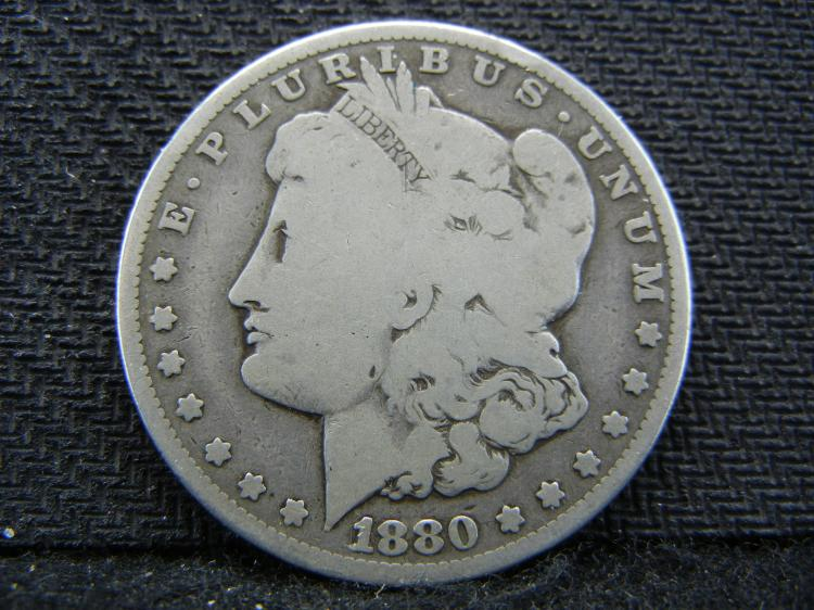 1880-CC Morgan Dollar - KEY DATE - Only 495k Minted