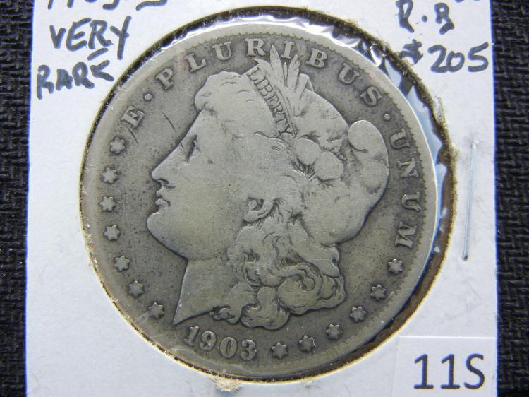1903-S Morgan Dollar - KEY DATE