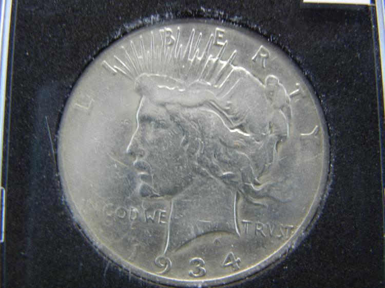1934-S Peace Dollar - KEY DATE
