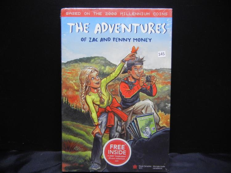 The Adventures of Zac & Penny Money Series - Based on the 2000 Canadian Millennium Coins