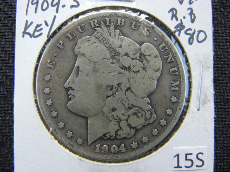 1904-S Morgan Dollar - Key Date