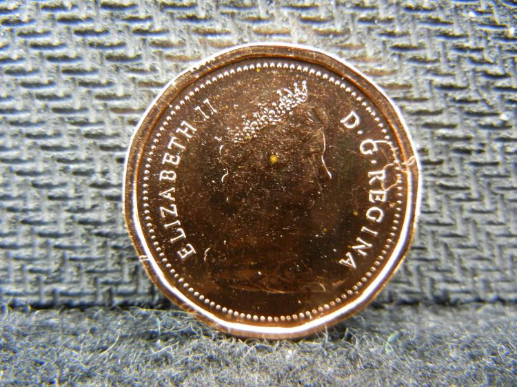 1982 UNC Canadian Penny