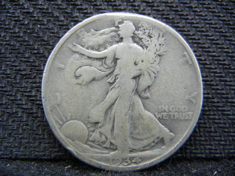 1934 Waling Liberty Half Dollar