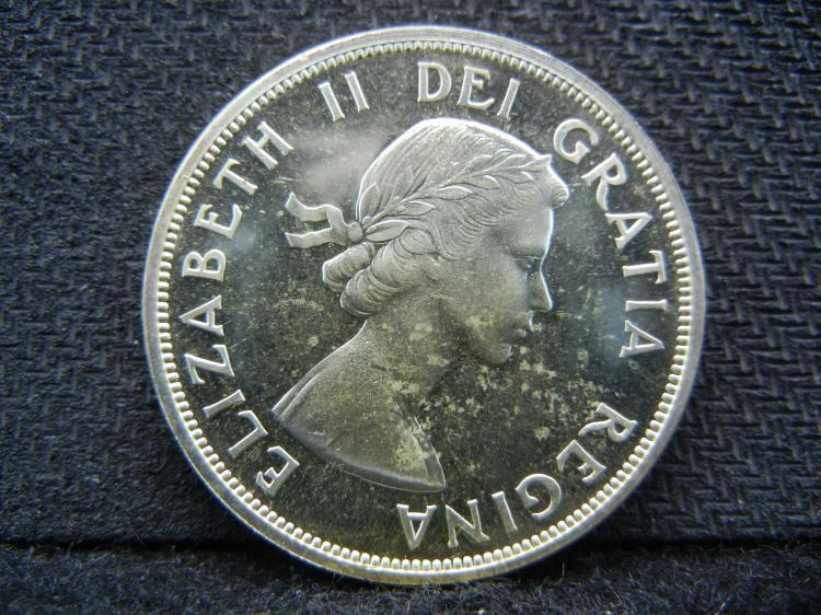 1959 Canadian Dollar - 80% Silver