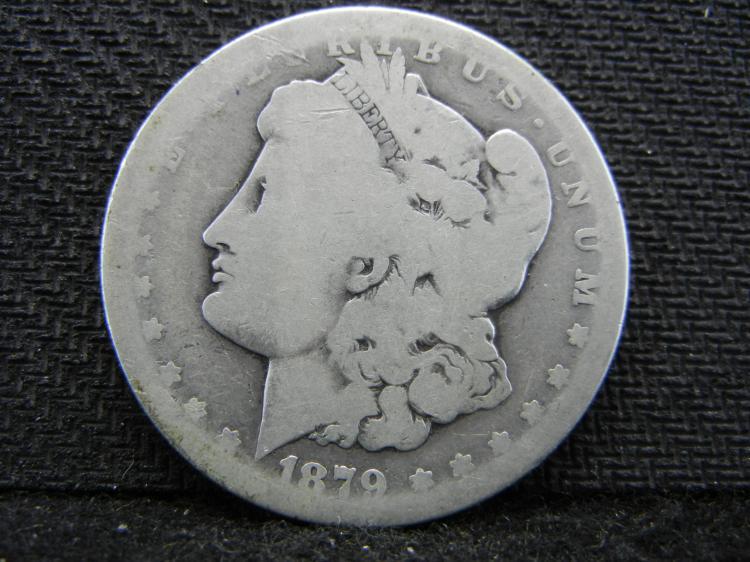 1879-CC Morgan Dollar - KEY DATE - 756k Minted