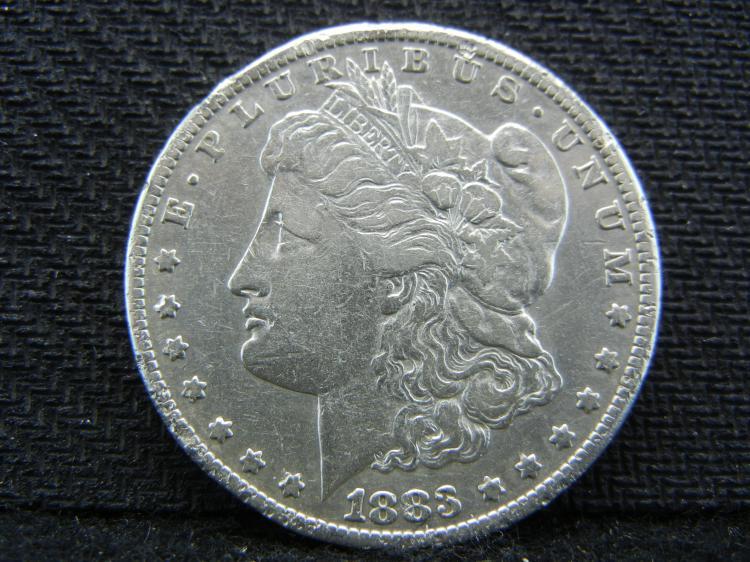 1883-CC Morgan Dollar - KEY DATE