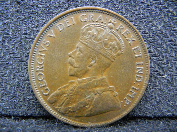 1917 Canadian Large Cent