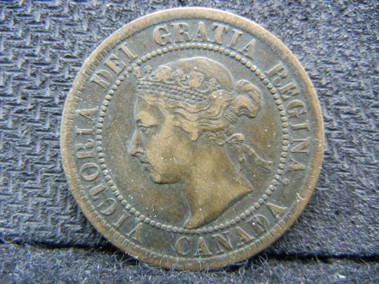 1896 Canadian Large Cent