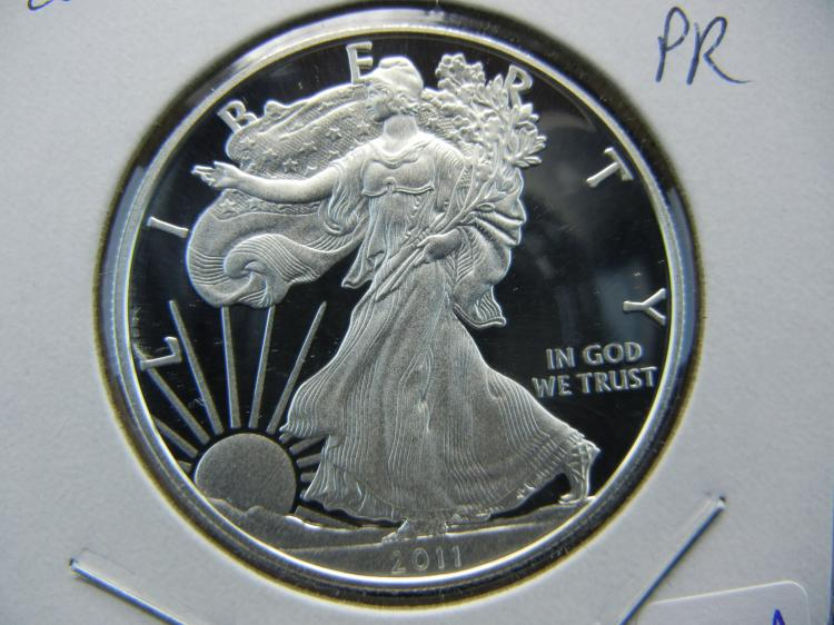 2011 Deep Cameo Proof Silver Eagle.