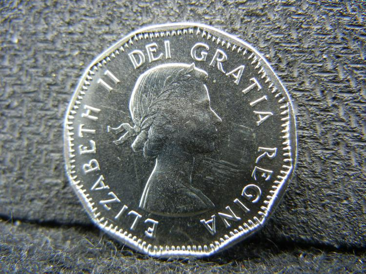 1961 UNC Canadian Nickel
