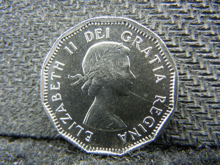 1962 UNC Canadian Nickel