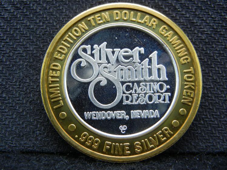 Wendover, NV $10 Casino Coin