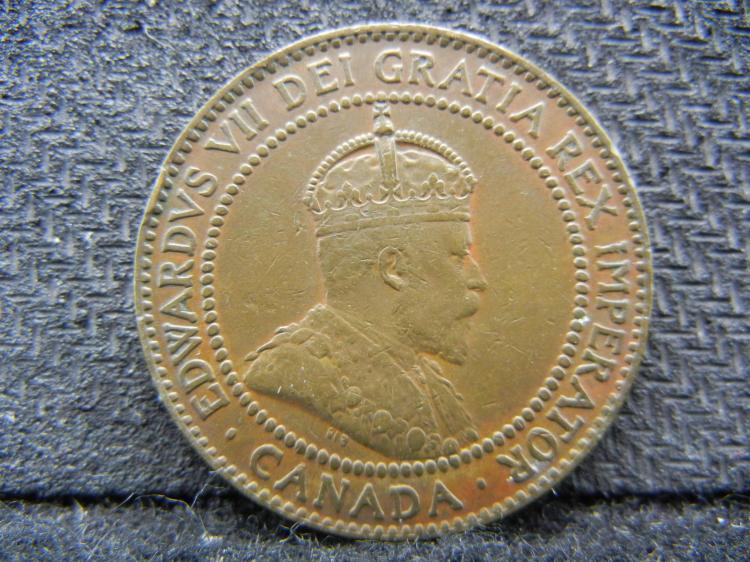 1910 Canadian Large Cent