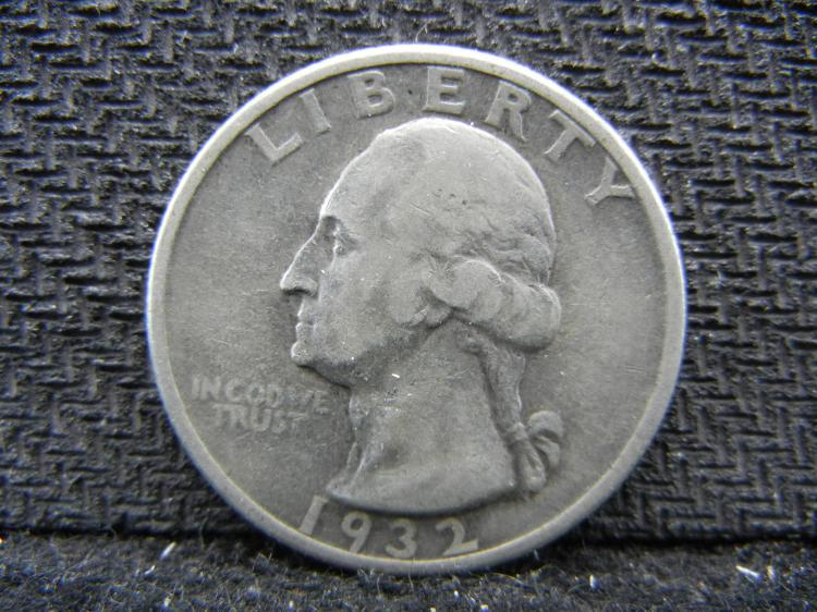 1932 Washington Quarter - 90% Silver