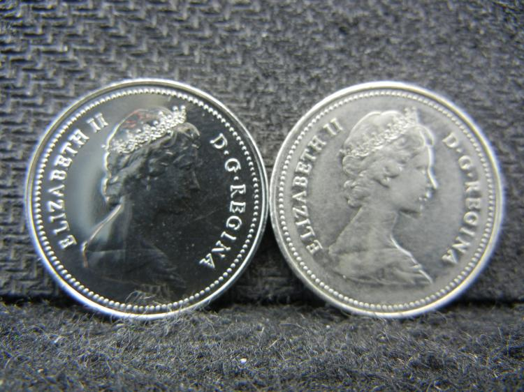 1980 & 1981 Canadian Nickels