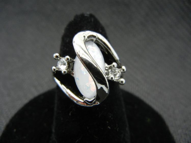 Woman's Opal Ring (Size 7). Beautiful, What a Great Gift!, New