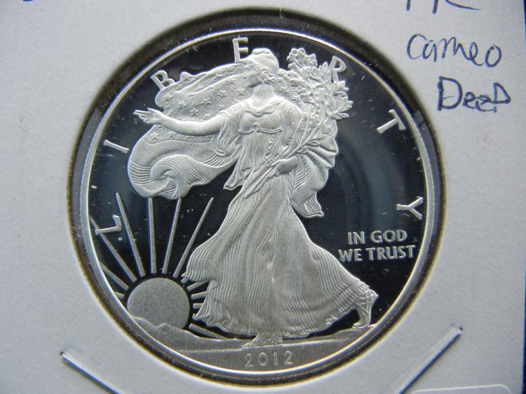 2012 Deep Cameo Proof Silver Eagle.